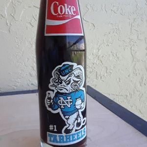 Vintage Tar Heels Coke Bottle '82